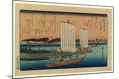Gyotoku No Kihan-Utagawa Hiroshige-Mounted Giclee Print