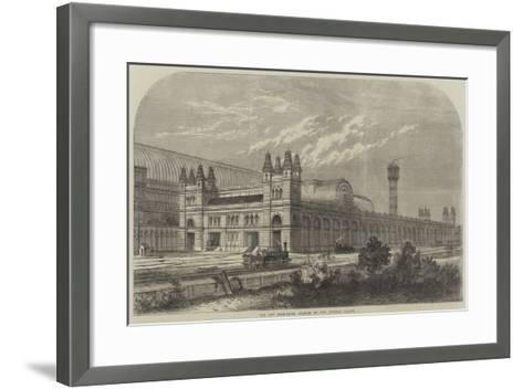 The New High-Level Station at the Crystal Palace-Thomas Sulman-Framed Art Print