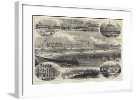 Ostend and its New Assembly Rooms-Thomas Sulman-Framed Art Print