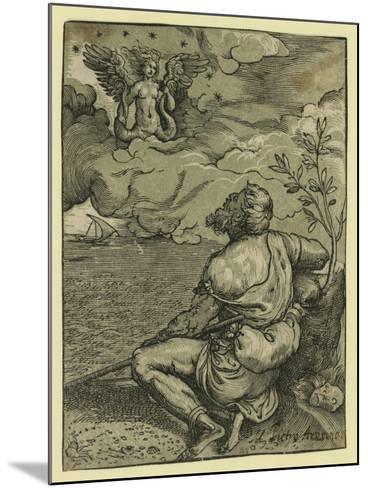 M. Pietro Aretino-Titian (Tiziano Vecelli)-Mounted Giclee Print