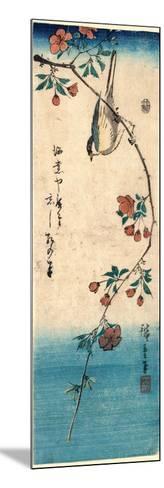 Kaido Ni Shokin-Utagawa Hiroshige-Mounted Giclee Print