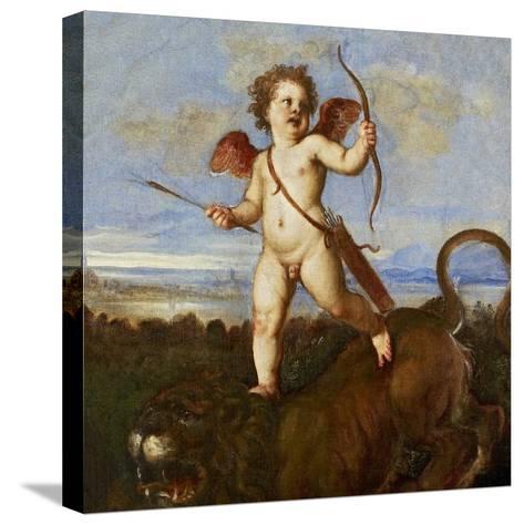 The Triumph of Love, C. 1545-Titian (Tiziano Vecelli)-Stretched Canvas Print