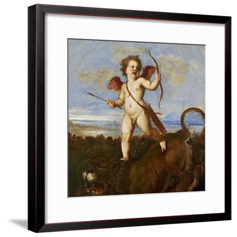 The Triumph of Love, C. 1545-Titian (Tiziano Vecelli)-Framed Art Print