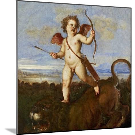 The Triumph of Love, C. 1545-Titian (Tiziano Vecelli)-Mounted Giclee Print