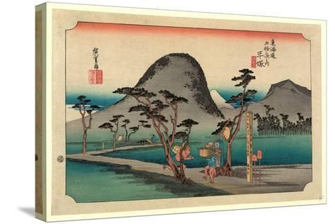 Hiratsuka-Utagawa Hiroshige-Stretched Canvas Print