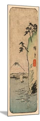 Honmoku Kara No Fuji [O Nozomu]-Utagawa Hiroshige-Mounted Giclee Print