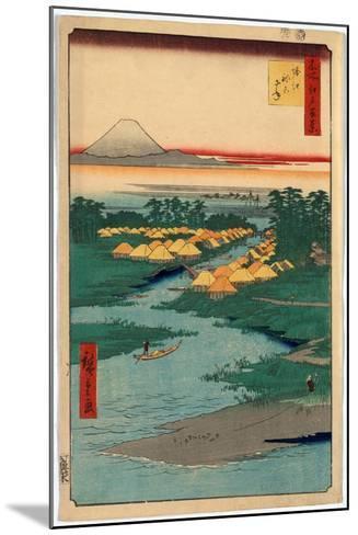 Horie Nekozane-Utagawa Hiroshige-Mounted Giclee Print