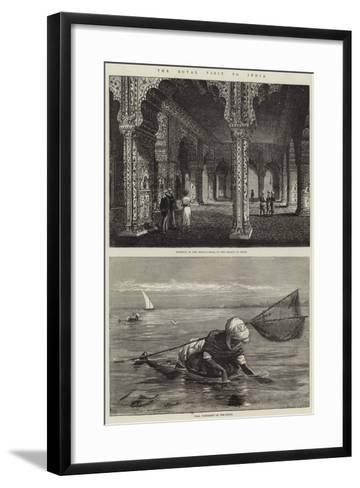 The Royal Visit to India-Thomas W. Wood-Framed Art Print