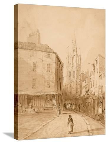 Castle Garth, Newcastle Upon Tyne-Thomas Miles Richardson-Stretched Canvas Print