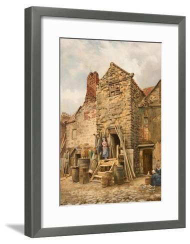 Old Sparrow Hall, Cullercoats-Thomas Miles Richardson-Framed Art Print
