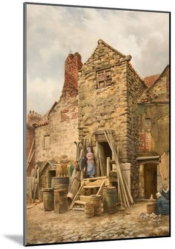 Old Sparrow Hall, Cullercoats-Thomas Miles Richardson-Mounted Giclee Print