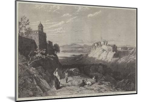 City of Chiusi, Etruria-Thomas Miles Richardson II-Mounted Giclee Print