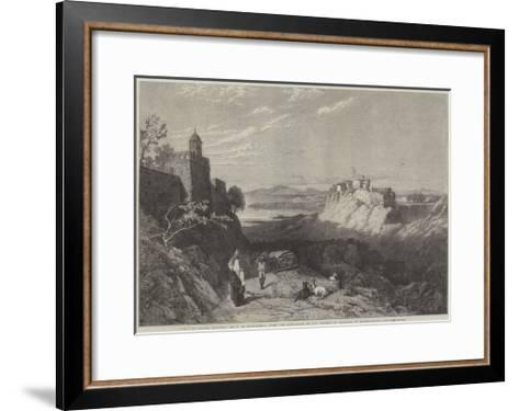 City of Chiusi, Etruria-Thomas Miles Richardson II-Framed Art Print