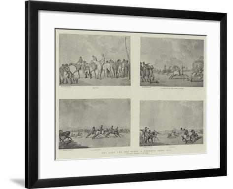 The Race for the Derby a Hundred Years Ago-Thomas Rowlandson-Framed Art Print