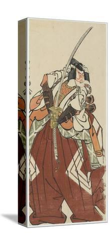 Ichikawa Komazo III as Shinozuka Goro, 1794-Toshusai Sharaku-Stretched Canvas Print