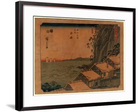 Yui-Utagawa Hiroshige-Framed Art Print