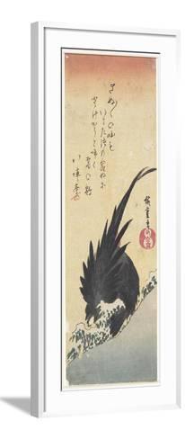 Rooster, Early 19th Century-Utagawa Hiroshige-Framed Art Print