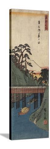 Ochanomizu, C. 1830-1858-Utagawa Hiroshige-Stretched Canvas Print