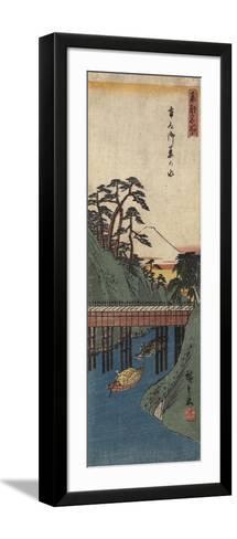 Ochanomizu, C. 1830-1858-Utagawa Hiroshige-Framed Art Print