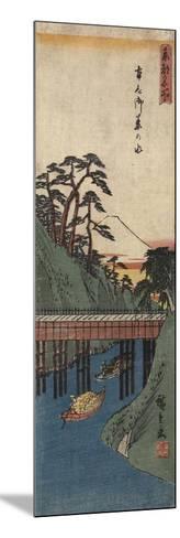 Ochanomizu, C. 1830-1858-Utagawa Hiroshige-Mounted Giclee Print