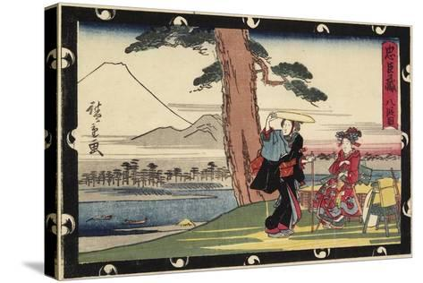 Act 8, Early 19th Century-Utagawa Hiroshige-Stretched Canvas Print