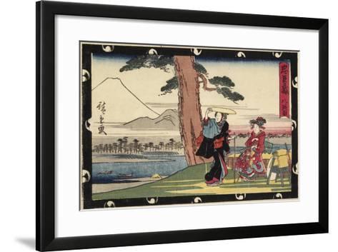 Act 8, Early 19th Century-Utagawa Hiroshige-Framed Art Print