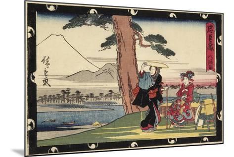 Act 8, Early 19th Century-Utagawa Hiroshige-Mounted Giclee Print