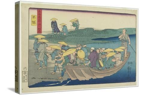 Hiratsuka, 1847-1852-Utagawa Kuniyoshi-Stretched Canvas Print