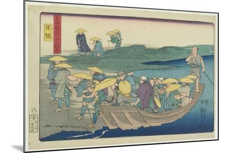 Hiratsuka, 1847-1852-Utagawa Kuniyoshi-Mounted Giclee Print