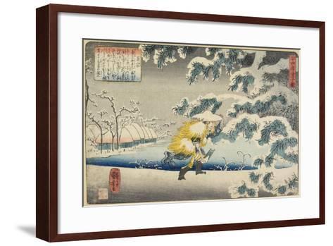 Moso, 1844-1846-Utagawa Kuniyoshi-Framed Art Print