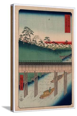 Toto Ochanomizu-Utagawa Hiroshige-Stretched Canvas Print