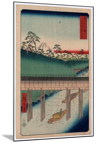 Toto Ochanomizu-Utagawa Hiroshige-Mounted Giclee Print
