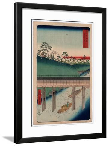 Toto Ochanomizu-Utagawa Hiroshige-Framed Art Print