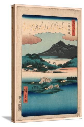 Mii No Bansho-Utagawa Hiroshige-Stretched Canvas Print