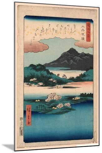 Mii No Bansho-Utagawa Hiroshige-Mounted Giclee Print