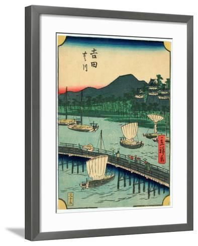 Yoshida-Utagawa Hiroshige-Framed Art Print