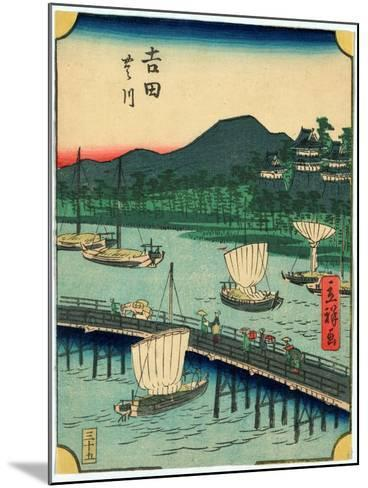 Yoshida-Utagawa Hiroshige-Mounted Giclee Print