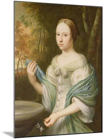 Portrait of a Lady, 1671-Wallerant Vaillant-Mounted Giclee Print