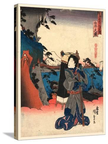 Yui No Zu-Utagawa Toyokuni-Stretched Canvas Print