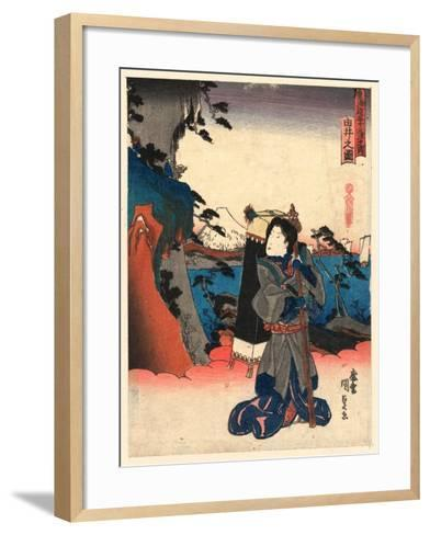 Yui No Zu-Utagawa Toyokuni-Framed Art Print