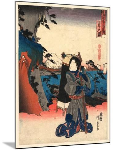 Yui No Zu-Utagawa Toyokuni-Mounted Giclee Print