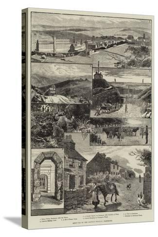 Sketches of the Convict Prisons, Dartmoor-Walter Bothams-Stretched Canvas Print