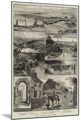 Sketches of the Convict Prisons, Dartmoor-Walter Bothams-Mounted Giclee Print