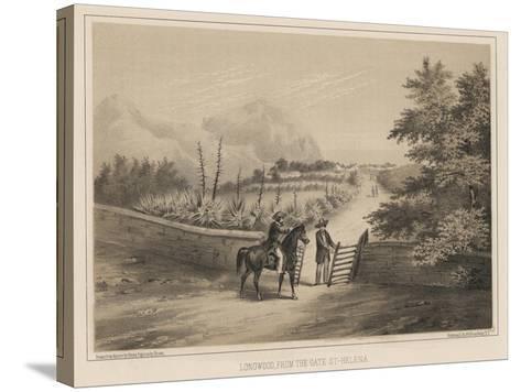 Longwood, from the Gate, St. Helena, 1855-Wilhelm Joseph Heine-Stretched Canvas Print