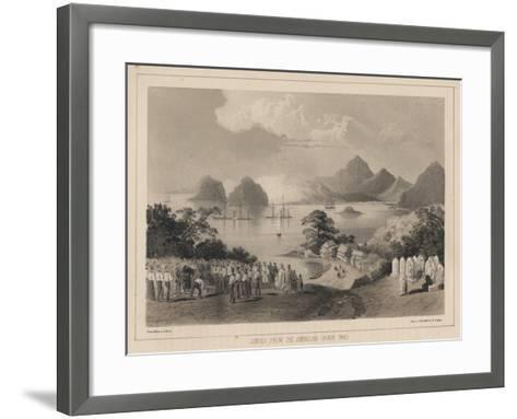 Simoda from the America Graveyard, 1885-Wilhelm Joseph Heine-Framed Art Print
