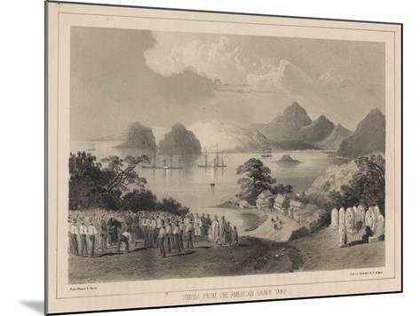 Simoda from the America Graveyard, 1885-Wilhelm Joseph Heine-Mounted Giclee Print