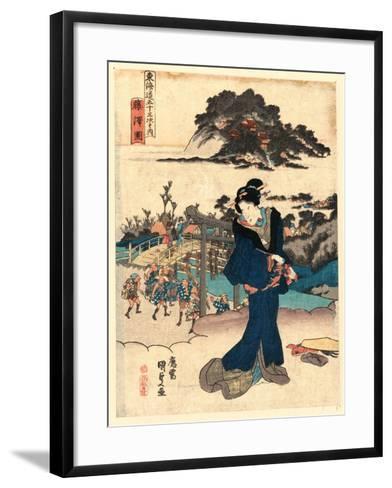 Fujisawa Zu-Utagawa Toyokuni-Framed Art Print