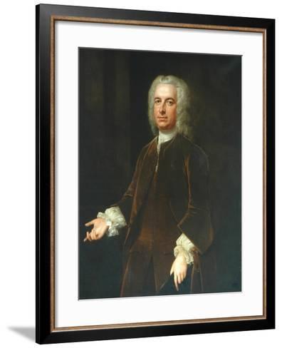 Sir William Wentworth-Willem Verelst-Framed Art Print