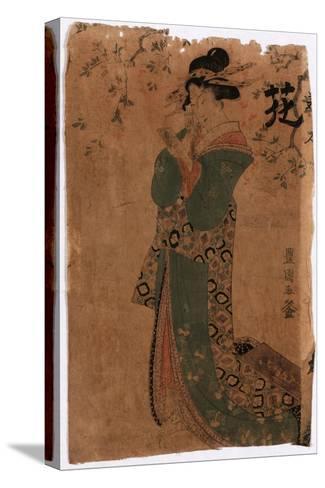 Hana-Utagawa Toyokuni-Stretched Canvas Print