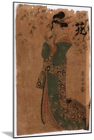 Hana-Utagawa Toyokuni-Mounted Giclee Print